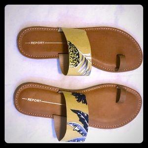 Report Footwear Ocala Toe Strap slide sandal